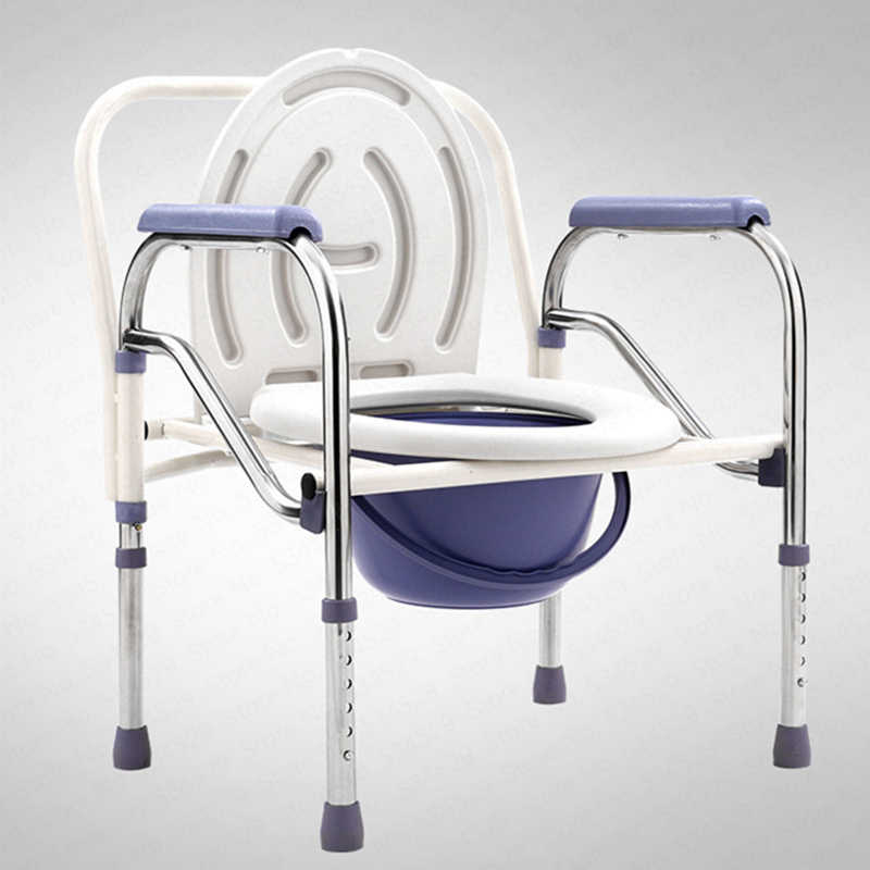 Bedside Commode Chair Medical Shower Chair Bath Seat Heavy Duty