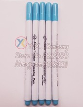 5 PCS  ADGER across-stitch tools water-based pen blue colour quickly to disappear
