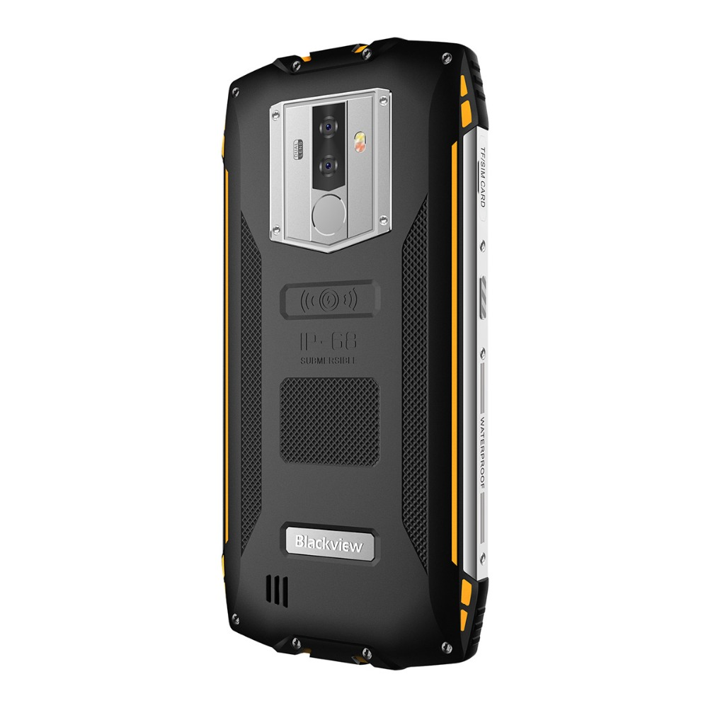 """Blackview BV6800 Pro Android 8.0 Outdoor Mobile Phone 5.7"""" MT6750T Octa Core 4GB+64GB 6580mAh Waterproof NFC Rugged Smartphone"""