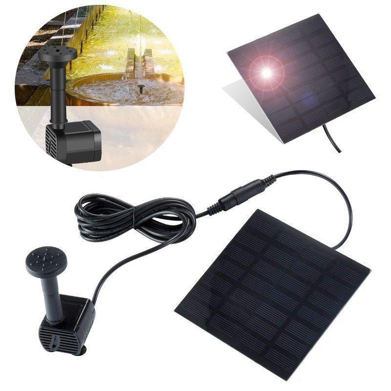 SmartGarden - Solar Powered Bird Bath Fountain Kit