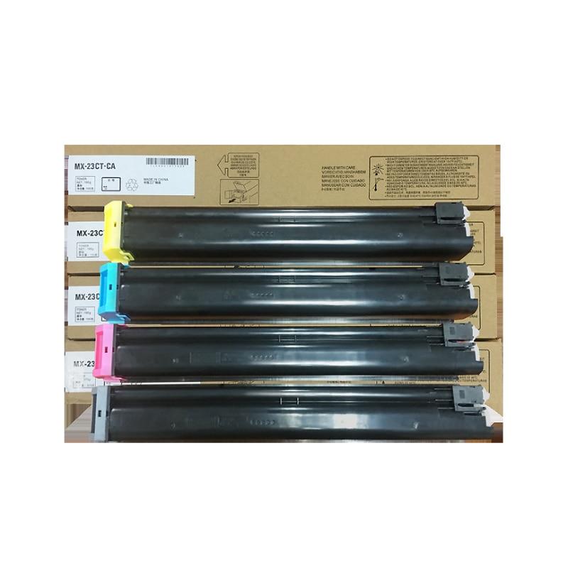 compatible Mx-23ct MX23 mx-23 color toner cartridge for Sharp MX2318/2338/2018/2638/3318/3138 compatible copier sharp mx 2618nc mx 3618nc toner refill toner for sharp mx 23nt mx 23gt mx 23ct for sharp mx 2618 mx 3618 toner