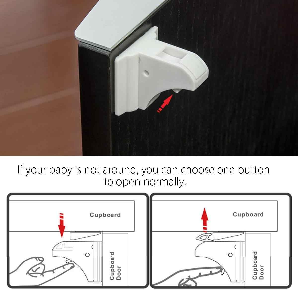 12 ล็อค + 3 คีย์แม่เหล็กเด็กล็อค 15 in 1 เด็กป้องกันเด็กประตูตู้ล็อคเด็กลิ้นชัก locker ที่มองไม่เห็นล็อค