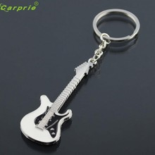 New Arrival Guitar Keychain Buckle Car Key Chain Ring jr5(China)
