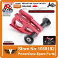 CNC Rear Chain Adjuster Axle Blocks With Slider Bolts Device  CR125 250 CRF250R CRF250X CRF450R 450X Motorcycle Motocross Enduro
