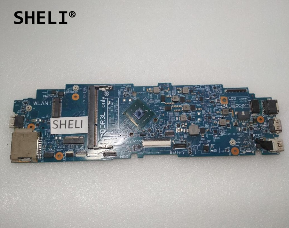 SHELI For Dell Latitude. 11 3150 Motherboard with N3540 2.16GHz CPU 14230-1 5FFCR CN-0C1F00 0C1F00 C1F00SHELI For Dell Latitude. 11 3150 Motherboard with N3540 2.16GHz CPU 14230-1 5FFCR CN-0C1F00 0C1F00 C1F00