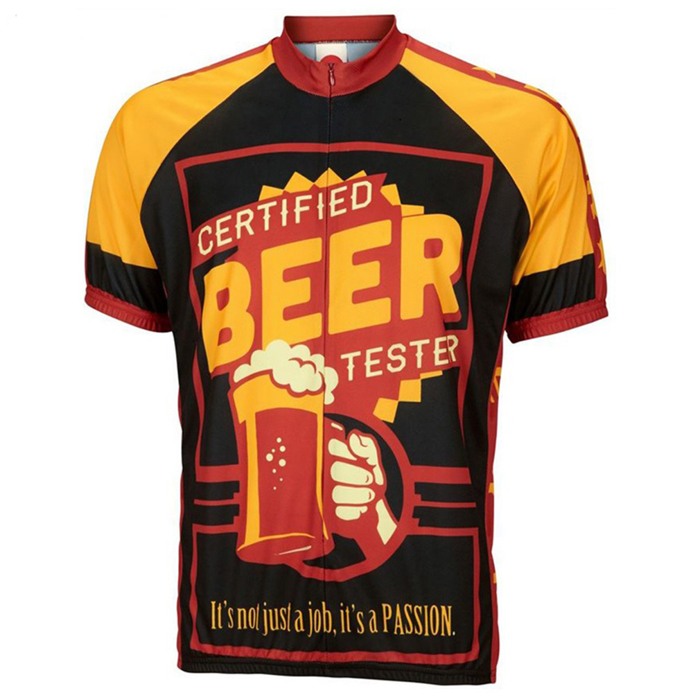 2018 Men Beer cycling jerseys ropa ciclismo short sleeved Cycling clothing classic Bicycling clothes Summer bike wear MTB cycling clothing summer men cycling jerseys bike clothing bicycle short ropa ciclismo breathable sportwear bike clothes page 4