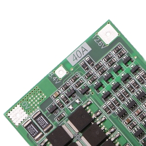 Image 4 - 4S 40A 14.8V 16.8V Li ion Lithium 18650 Battery BMS PCB Protection Board Balance
