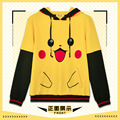 Pokemon clothes Men Women Hoodies Cotton Novelty Sweatshirt teens Boy Girl Pikachu Coat Autumn Sportswear kids Animation Cosplay