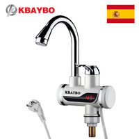 3000W Electric Water Heater Instant Kitchen Faucet Electric Instant Water Heater Tap Electric Faucet Cold Hot Dual Use