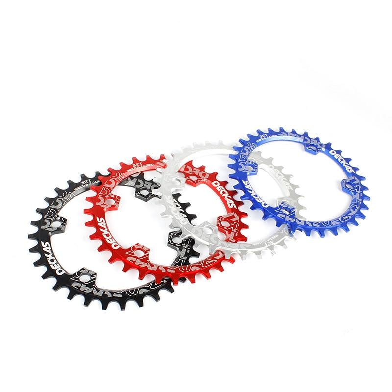 DECKAS 96BCD kerek Mtb Bike Crankset Széles keskeny lánckerék M7000 / M8000 / 9000 kerékpártartóhoz