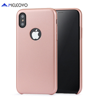 5 Colors Meleovo Brand Luxury Hybrid Ultra Thin Retro PC Hard Back Case For Iphone X