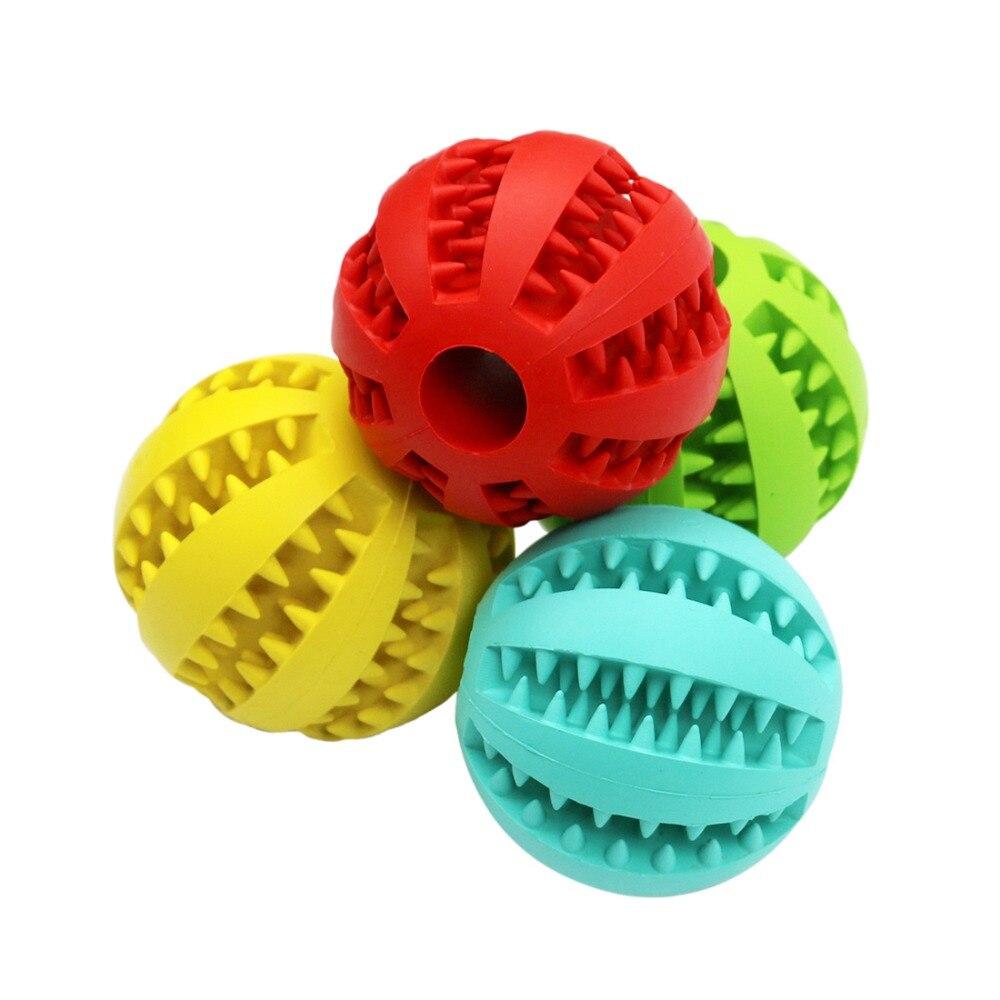 YVYOO собака игрушки экстра-жесткие резиновый мяч игрушка забавный интерактивный эластичность мяч собаки, игрушки для собак зуб чистый мяч A22