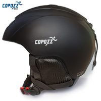 COPOZZ New Brand Ski Helmet Integrally Molded Professional Snowboard Helmet Men Women Skating Skateboard Warm Skiing