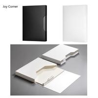 (2 шт./лот, один белый и один черный) коробка Папки и файлы для документов папки для бумаг Организатор Напильники хранения документов