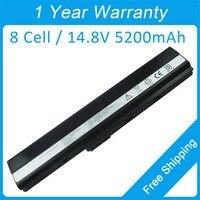 New 8 Cell Laptop Battery A41 K52 For Asus A42DY K42S X42JP Pro 5L 5LJ 5LJT