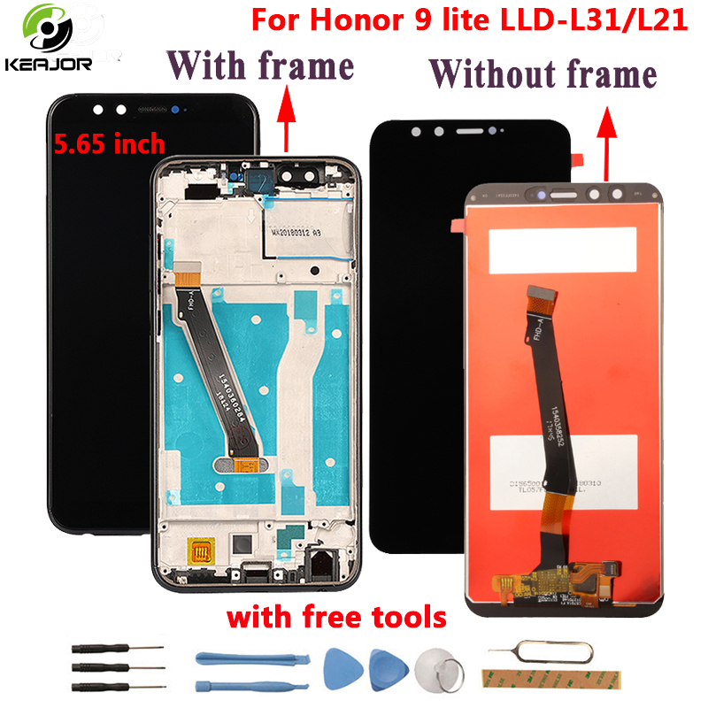 For <font><b>Huawei</b></font> <font><b>Honor</b></font> <font><b>9</b></font> <font><b>Lite</b></font> LCD <font><b>display</b></font>+Touch screen+<font><b>frame</b></font> Tested digitizer assembly Replacement <font><b>display</b></font> For <font><b>Honor</b></font> <font><b>9</b></font> <font><b>Lite</b></font> LCD image