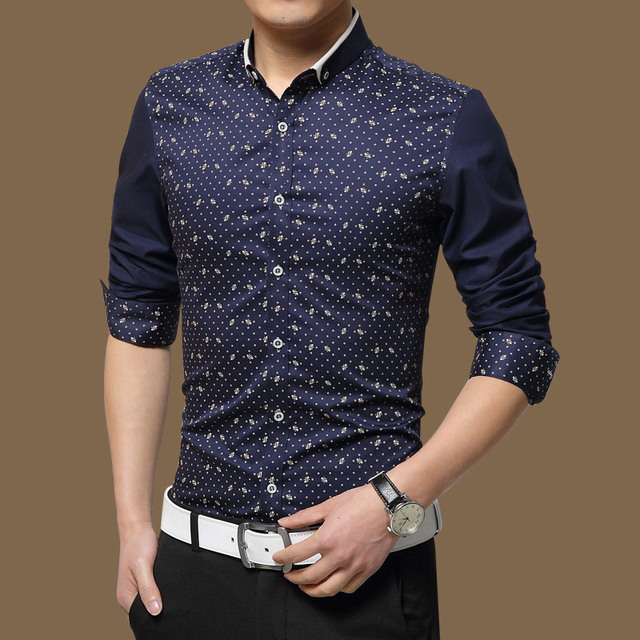 Hot selling High Quality Mens Casual Shirt New Spring Cotton Shirts Men 5XL Slim Fit Social Shirts chemise hombre for male Z2747