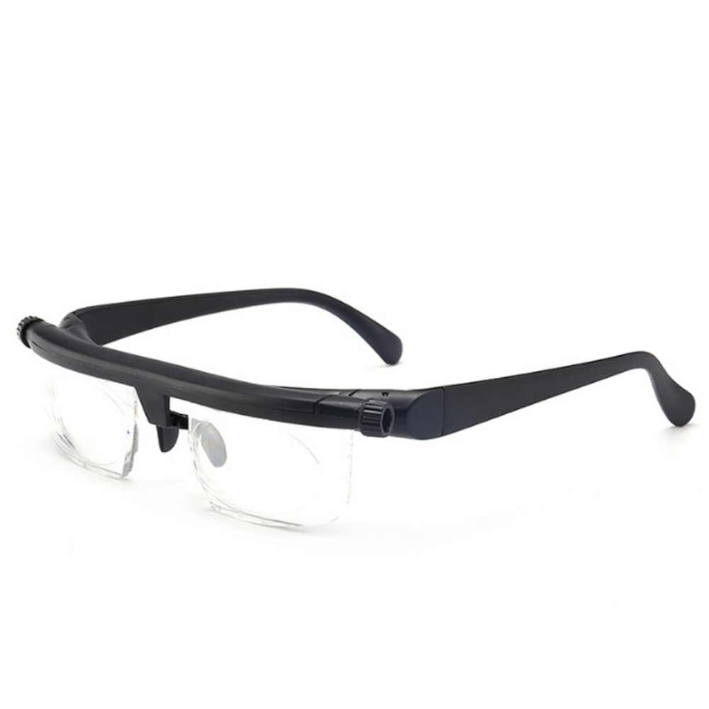 Adjustable Glasses Non-Prescription Lenses for Nearsighted Farsighted Computer Reading Driving Unisex Glasses Dropshipping