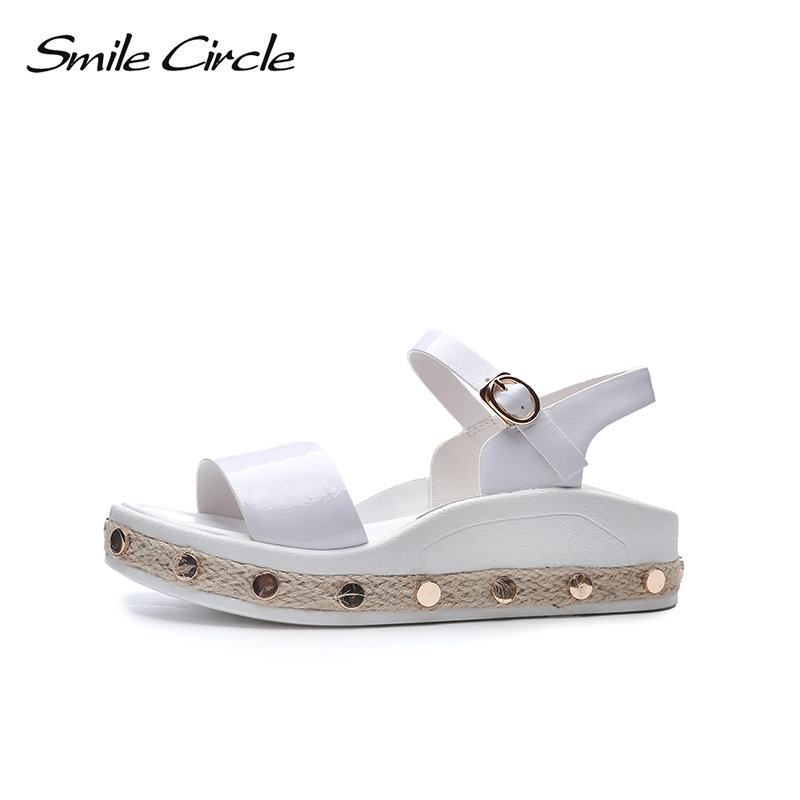 146dbdec4ffe Smile-Circle-Summer-Patent-leather-Sandals-For-Women -Fashion-Metal-straw-Casual-Shoes-Woman-Flat-Platform.jpg