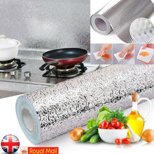 Self Adhesive Waterproof Oil-proof Aluminum Foil Kitchen Cabinet Wall Sticker 2019 New pear pattern kitchen heat resistant oil proof aluminum foil sticker white yellow green
