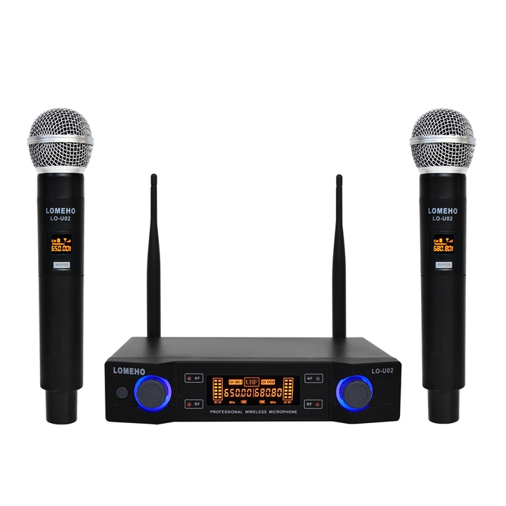 LO-U02  01  Wireless Microphones