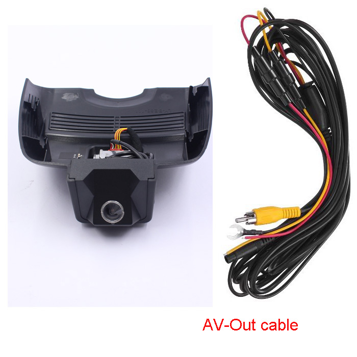 Car Dash Cam DVR blackbox for Mercedes Benz E W207 (Year 2009-2017) with AV-out cable And 16G/32G TF card mercedes actros 1844 2009