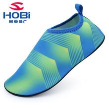 Kids Water Shoe for Boys Girls Beach Slippers Quick Dry Slip on Swimming Barefoot Socks Flip Flops for Children Brand Hobibear