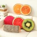 2017 novo produto Criativo 3D Frutas & Cat almofadas Decorativas Almofadas home decor Sofá Rodada Cochilo Assento almofada Cintura Travesseiro 62335-01