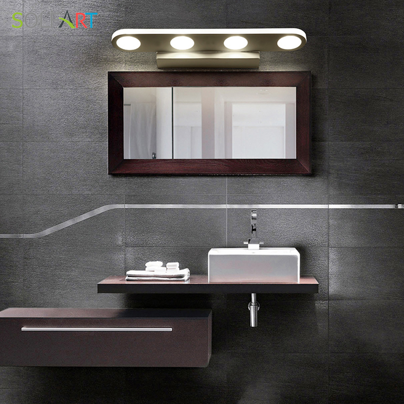 Gentil SOLFART Wall Lamp Arandela Mirror Light Modern Led Sconce Wall Lights Acrylic  Bathroom Mirror Cabinet Mirror Front Lamp PS2231 In LED Indoor Wall Lamps  From ...