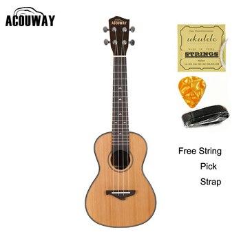 db6bdaaca Lubina eléctrica sólida de abeto ukelele bajo 30 pulgadas Ubass guitarra 30  pulgadas 4 cuerdas ...