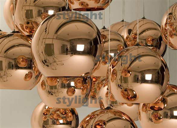Free shipping hot selling Copper Shade Diameter 20cm Ceiling lamp suspension lighting modern lamp Pendant Lamp