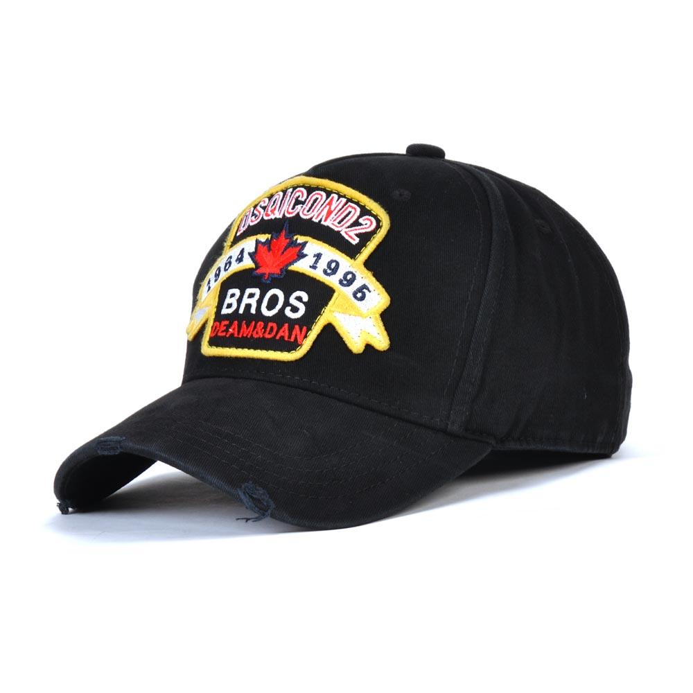 Baseball-Caps Snapback Black Cap Embroidered Women Summer New-Brand Cotton for Men's