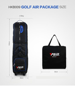 Image 5 - PGM New Golf Airbag with Password Lock Thickened Aircraft Check Bag Foldable HKB009