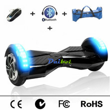 USA Stock 8 inch Bluetooth Hoverboard Two Wheels Electric Scooters Self Balancing Scooter Hover Board with Remote Key Carry Bag