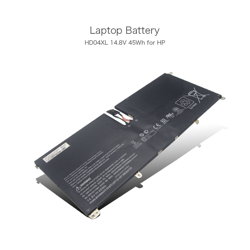 14.8V 45Wh 4 Cells Laptop Batteries for HP Envy Spectre XT 13-2000eg 13-2021tu 13-2120tu 685866-1B1 HD04XL HDO4XL HSTNN-IB3V PC