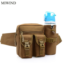 Free Shipping Waterproof Waist Pack For Men Women Casual Functional Fanny Pack Hip Money Belt Travel Mobile Phone Bag WUP109