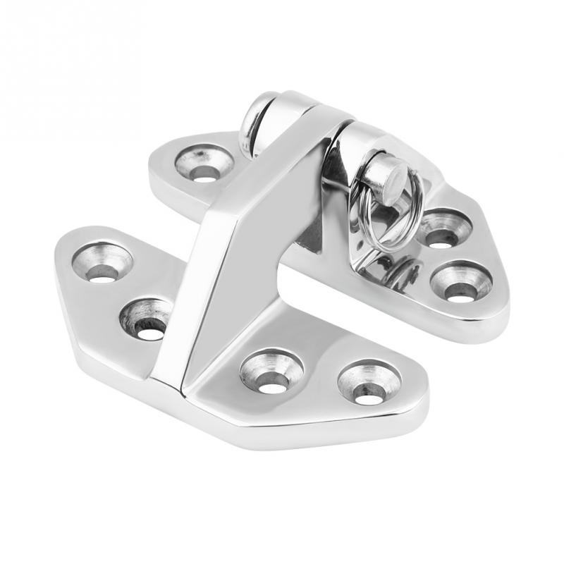 Stainless Steel Marine Boat Hatch Hinge Removable Pin Hardware
