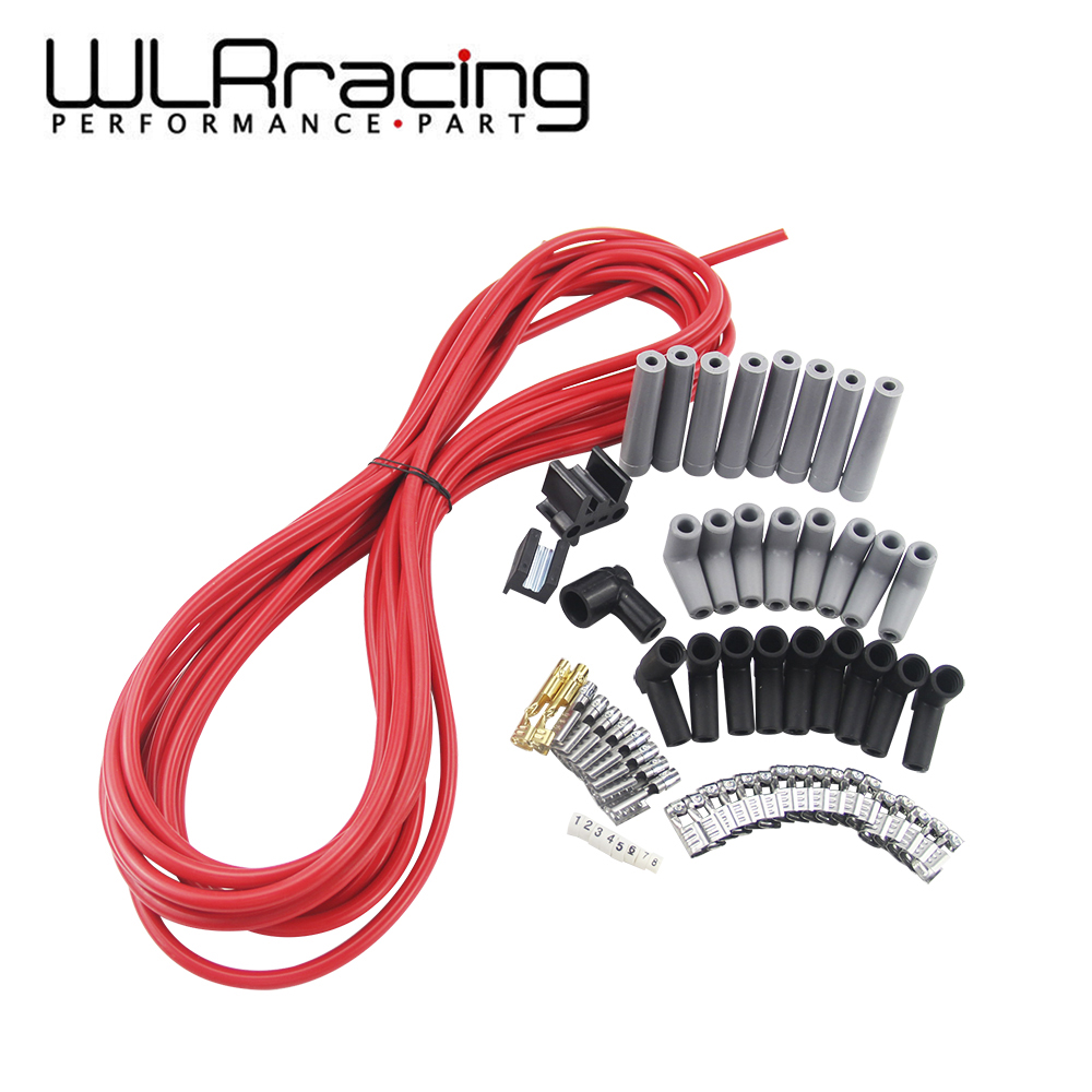 US $34.9 10% OFF|WLR RACING 10m / set Spark Plug Wires Spiral Core on