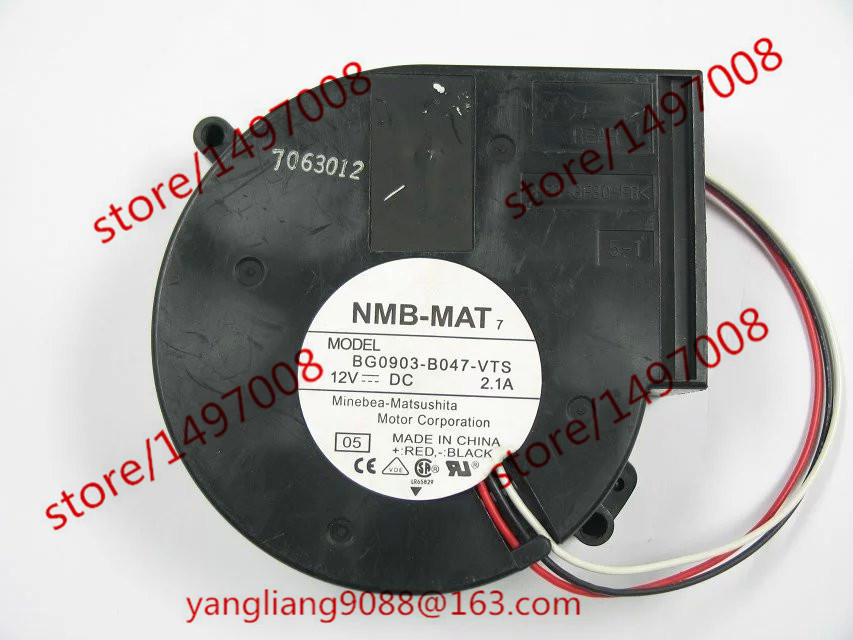 NMB-MAT BG0903-B047-VTS 05 DC 12V 2.1A 97x97x33mm Server Blower fan