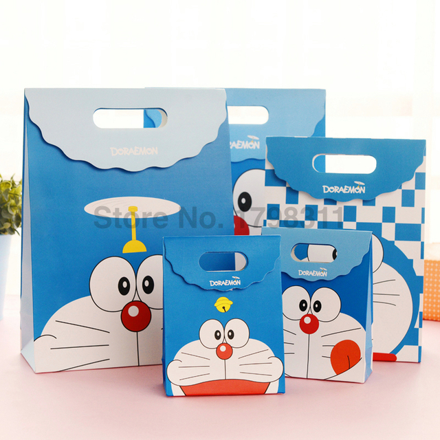 Custom Colored Paper Gift Bags With Handles 190gsm Glossy