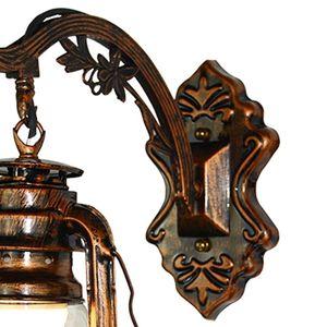 Image 3 - Vintage Led Wandlamp Retro Kerosine Wandlamp Europese Antieke Stijl Armatuur WF4458037