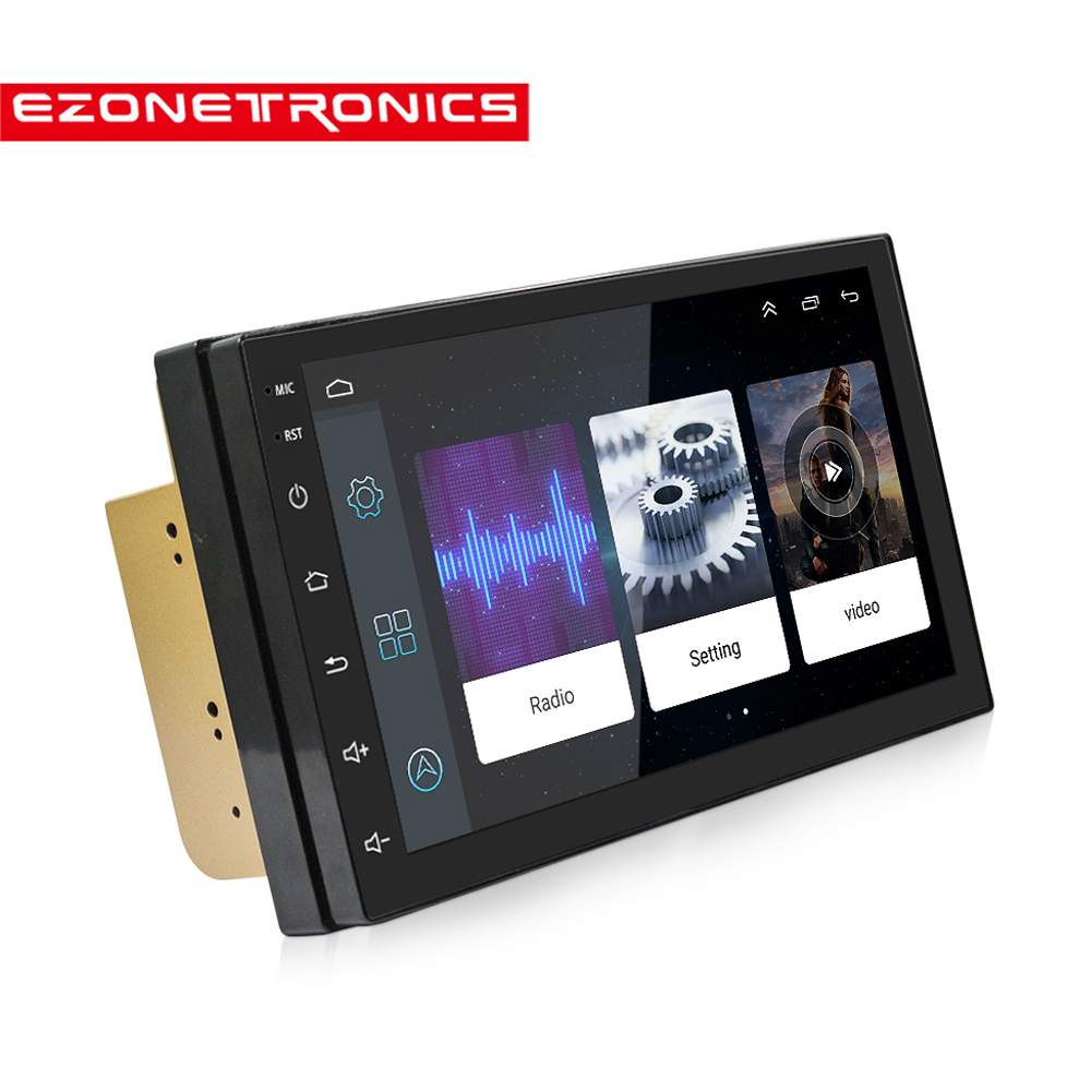 "Android 6.0 Car Radio 7"" 2din No DVD Universal Touch Screen High Definition 1024x600GPS Navigation Bluetooth Stereo Audio Player"