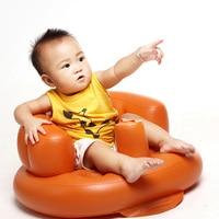 Baby Inflatable Feeding Bath Chair Children's Folding Seat Sofa Infant Armchair Playing Bath Chair High Chair Stool Puff Sofa
