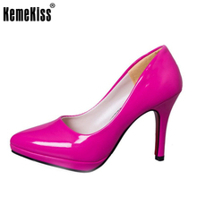 elegant high heels shoes women pointed toe party full season woman fashion platforms shoes heeled pumps shoes size 34-39 WC0021