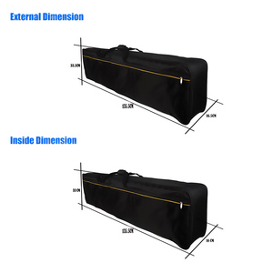 Image 4 - 61 76 88 Key Thickened Instrument Keyboard Electronic Piano Bag Cover Case For Electronic Piano