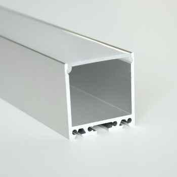 12m (6pcs) a lot, 2m per piece, Anodized diffuse aluminum led lighting profile, led aluminum profile channel - DISCOUNT ITEM  0% OFF All Category