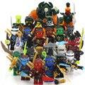 Compatível Com Lepin Ninja Blocos Figuras COLE JAY KAI ZANE Lloyd GARMADON WU NYA Morro Fantasma Ninja Figuras de Ação Blocos brinquedo