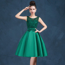 3e2fd77ca9abf Buy green satin prom dress and get free shipping on AliExpress.com