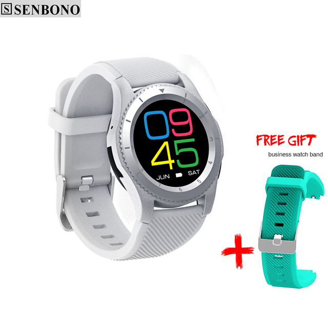 SENBONO G8 Smartwatchs Bluetooth Heart Rate & Blood Pressure Monitor