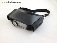 1.8X, 2.3X, 3.7X, 4.8X Illuminate Headband Magnifier Binocular Magnifier Loupes
